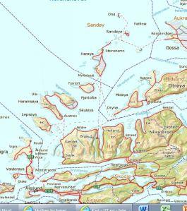 Nordøyane
