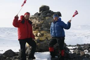 Topptur på Halti, Finlands høyeste fjell. 17.mai